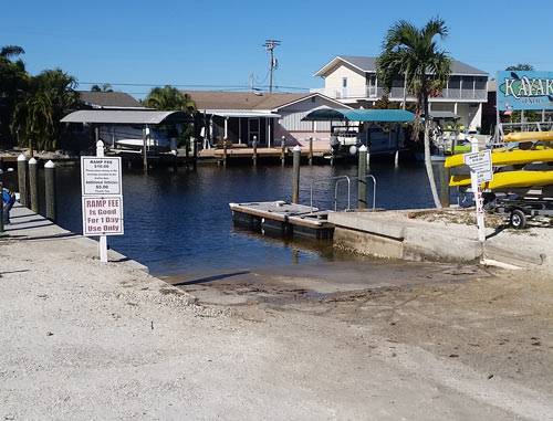 boat ramp in Saint James City